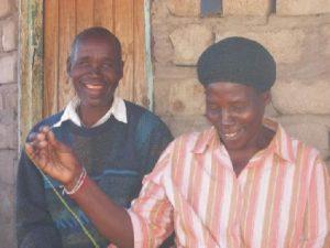 Eni met haar man Samson die ook deel is geweest van de 'Malappie-groep'