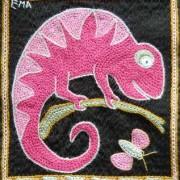 cham fushia pink