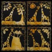 Giraffe ochre