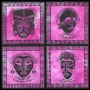 masks fuchia