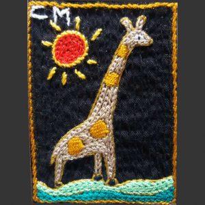 Giraffe sun R