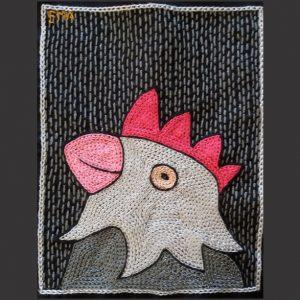 Chicken Head Pink L
