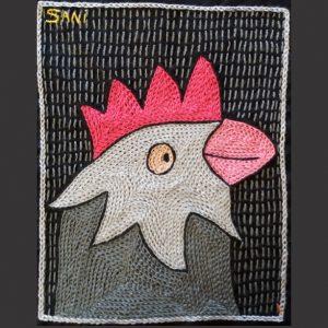Chicken Head Pink R