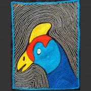 Guinea fowl head RYB L