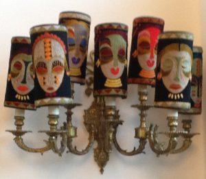 BW lamp shades